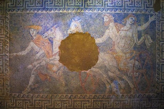 Αμφίπολη - Η Αρπαγή Της Περσεφόνης