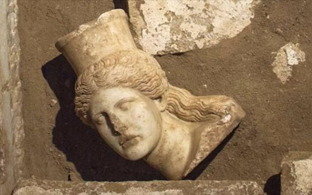 Αμφίπολη - Κεφάλι Σφίγγας