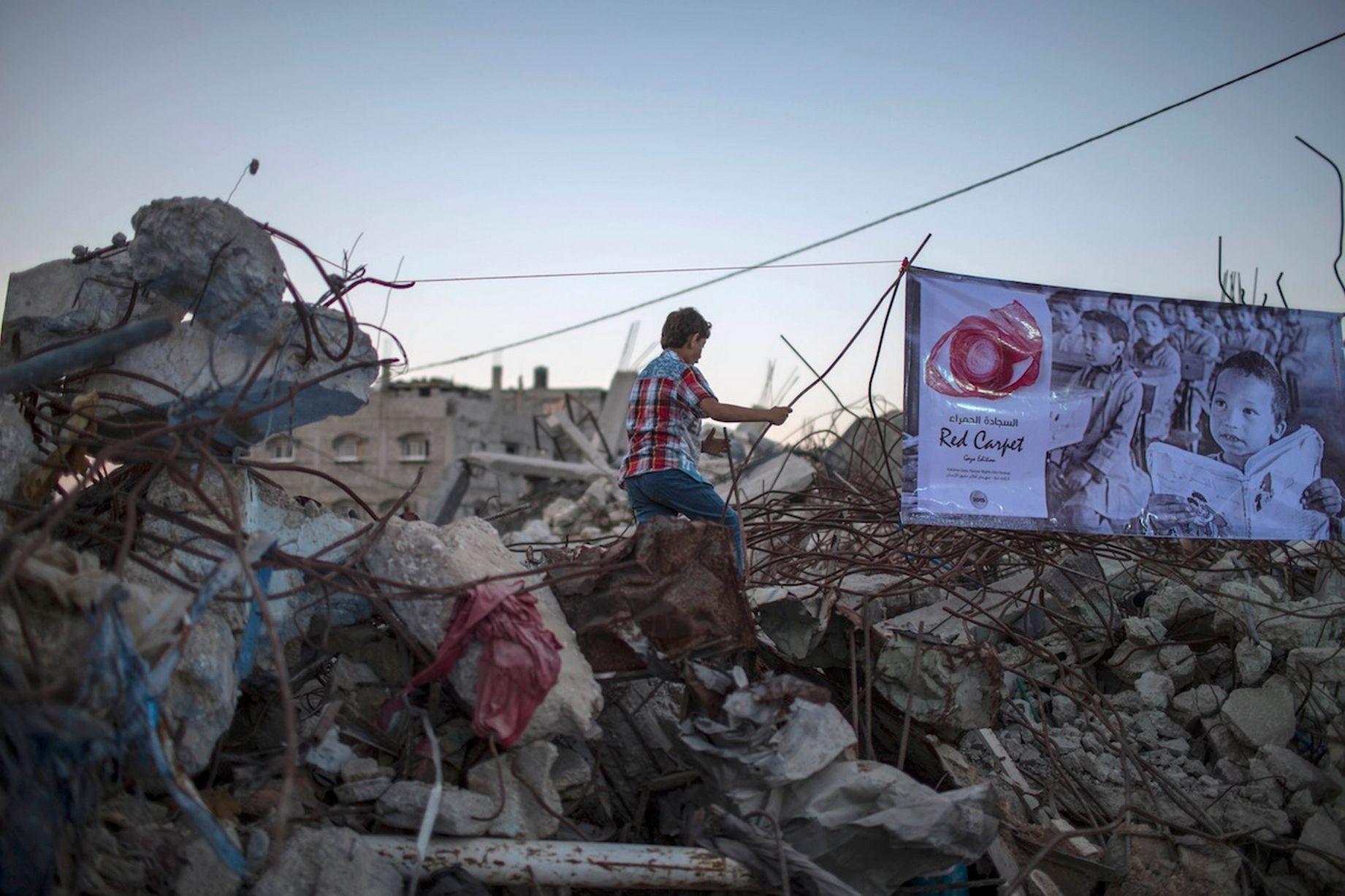 Το Κόκκινο Χαλί Στη Λωρίδα Της Γάζας_2
