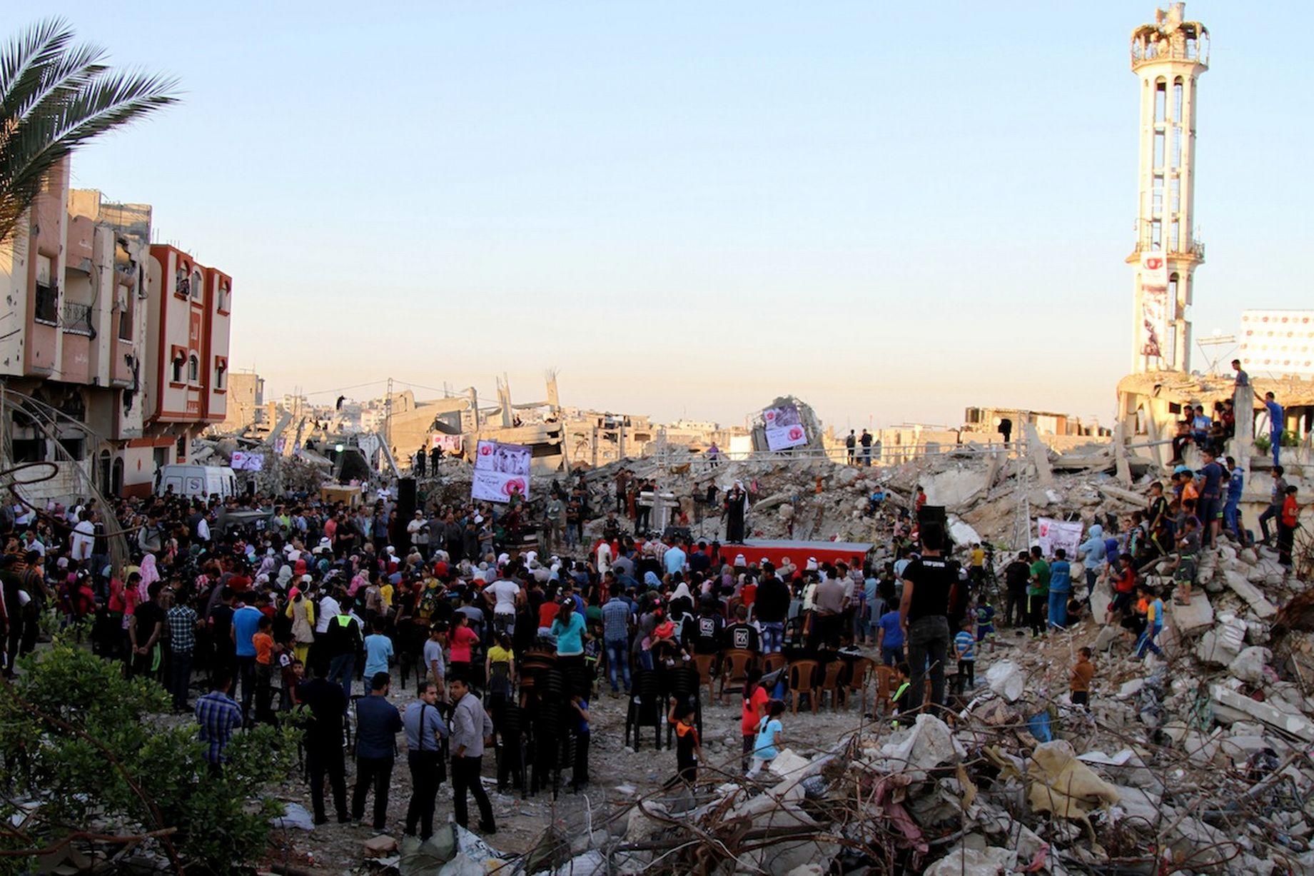 Το Κόκκινο Χαλί Στη Λωρίδα Της Γάζας_3