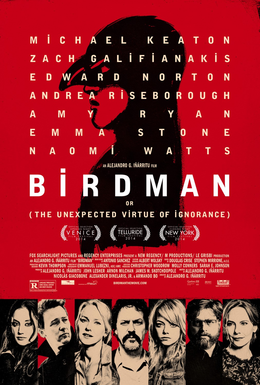 Οι Καλύτερες Ταινίες Της Χρονιάς - Birdman